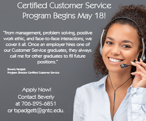 Certified Customer Service Program begins May 18