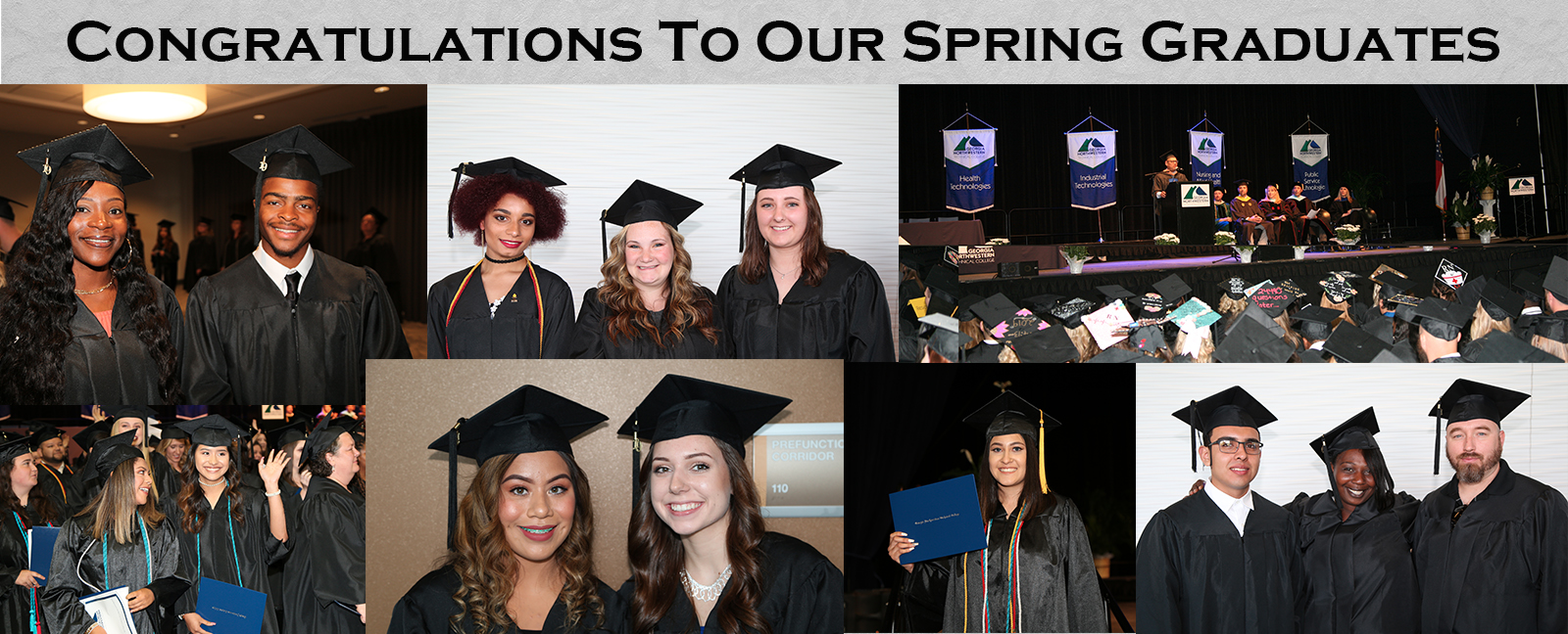 Congratulations to our Spring Graduates