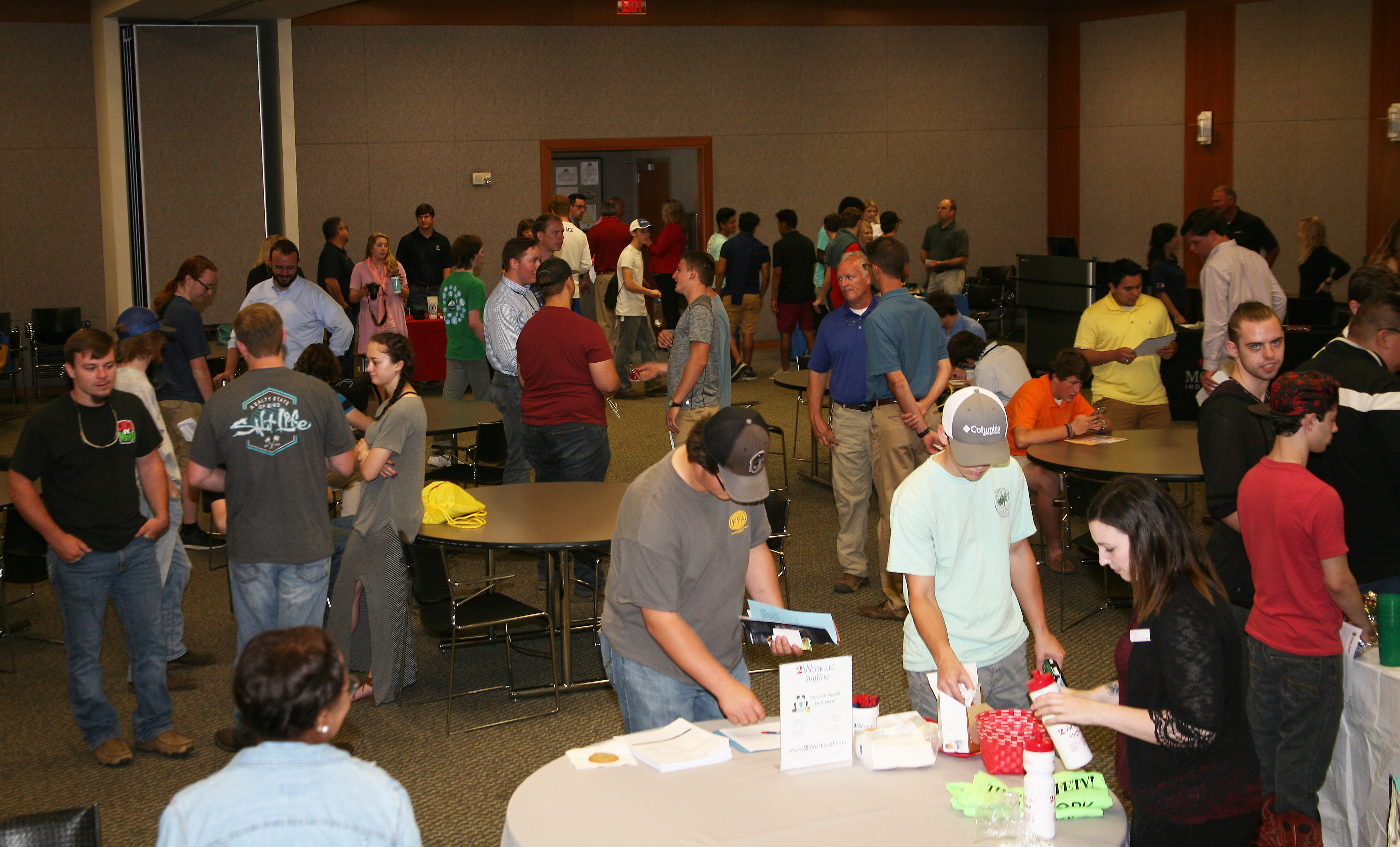 A Job Fair was held at GNTC's Floyd County Campus to showcase area employment opportunities in the manufacturing industry.
