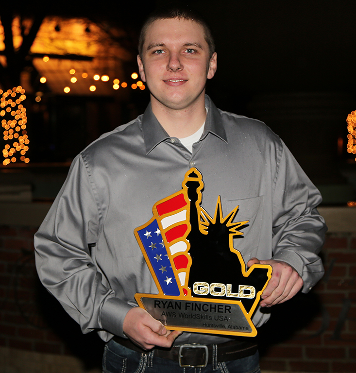 GNTC alumnus Ryan Fincher of Cedartown was selected as the U.S. representative for an elite international competition in Russia against the best welders from around the world.