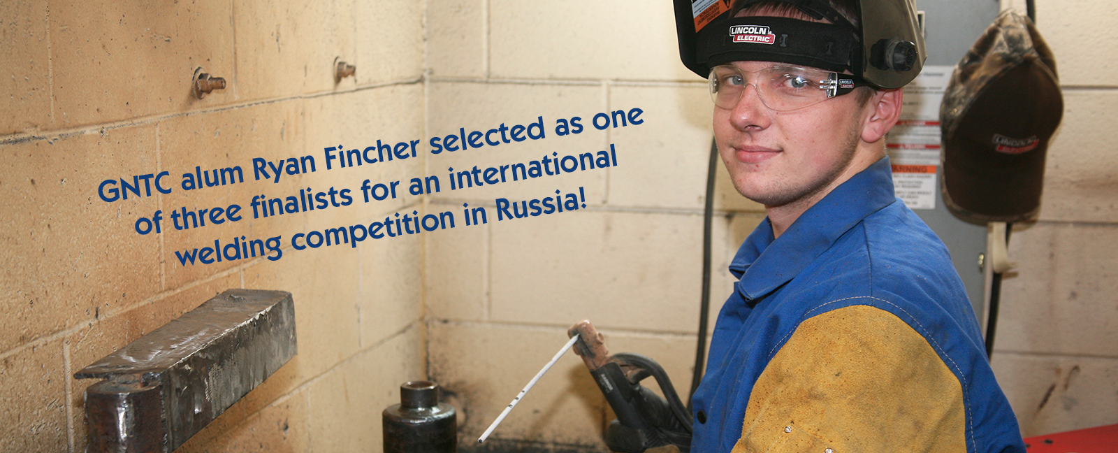GNTC alum Ryan Fincher selected as one of three 