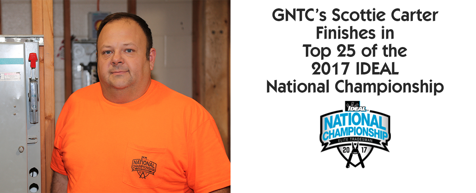 GNTC's Scottie Carter Finishes in the Top 25 of the 2017 IDEAL National Championship. Photo of Scottie Carter.