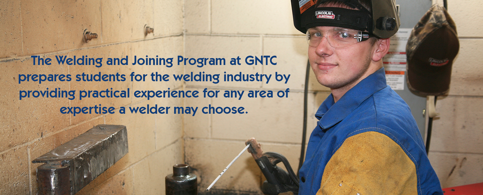 The Welding and Joining Program at GNTC 