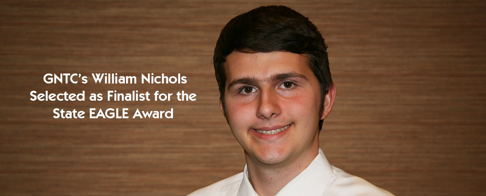 William Nichols Selected as Finalist for the State EAGLE Award