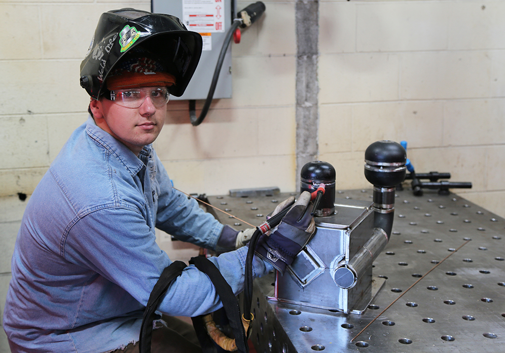 GNTC alumnus Ryan Fincher of Cedartown was selected as one of three finalists to become the U.S. representative in an elite international competition against the best welders from around the world.